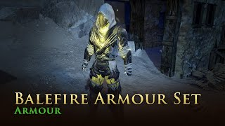 Path of Exile: Balefire Armour Set