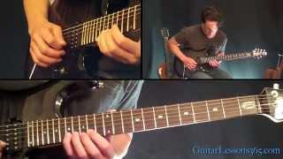 Goodbye To Romance Solo Lesson - Randy Rhoads - Ozzy Osbourne