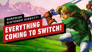 Everything Coming To Switch - April Fools 2019