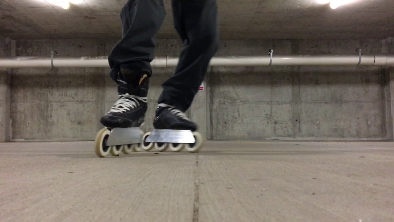 Some Wizard Frame 110mm Inline Skating Practice Youtube
