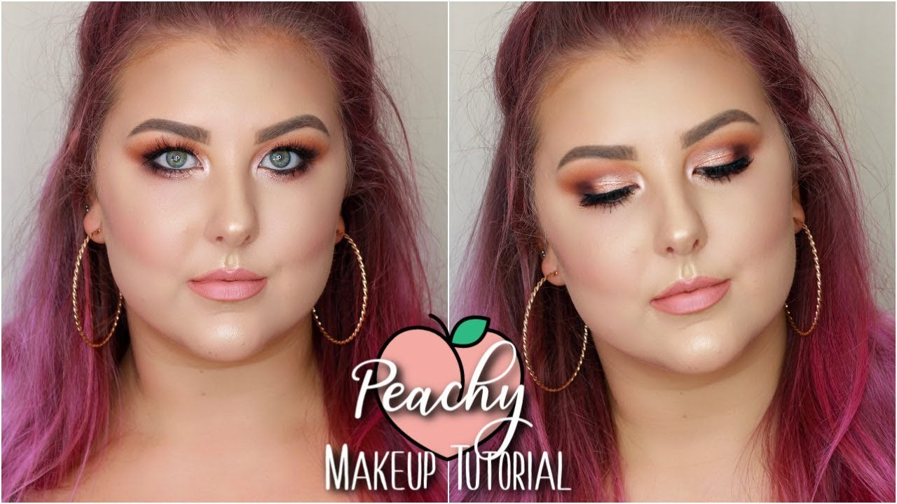 Peachy Pink Tutorial   Morphe + Jaclyn Hill Palette