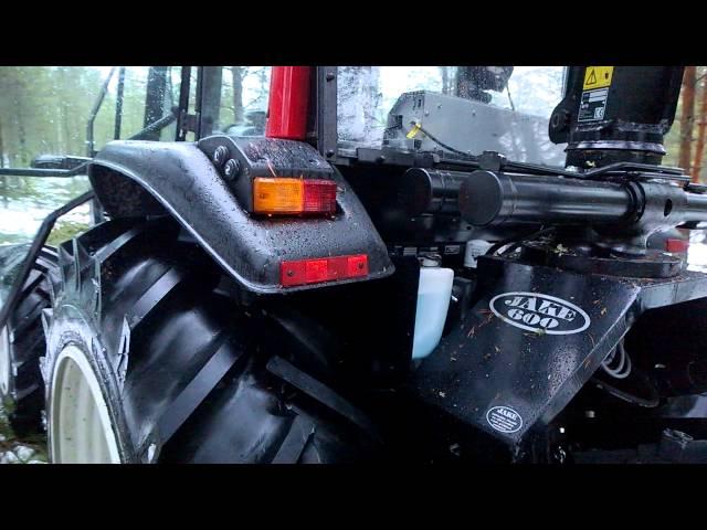 Valtra A93h:n varustelu hakkuukäyttöön, Nisula-tuotteet