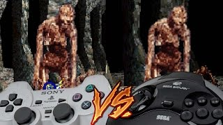 PlayStation Vs Sega Saturn - Crypt Killer