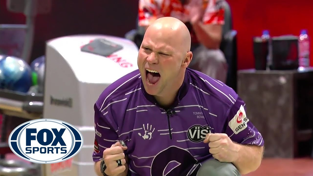 Tommy Jones bowls a perfect game to win the PBA Hall of Fame Classic