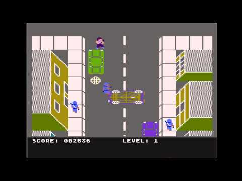 RetroTone: Atari 800XL - Los Angeles SWAT (1986)