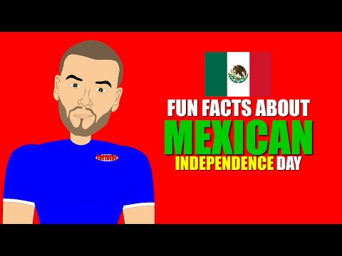 Fun Facts about Mexican Independence Day (Cartoons for Kids) Educational