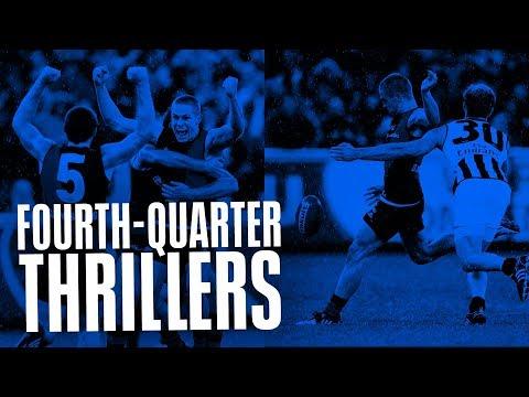 Fourth-Quarter Thrillers: Ess v Coll, Anzac Day 2009 | AFL