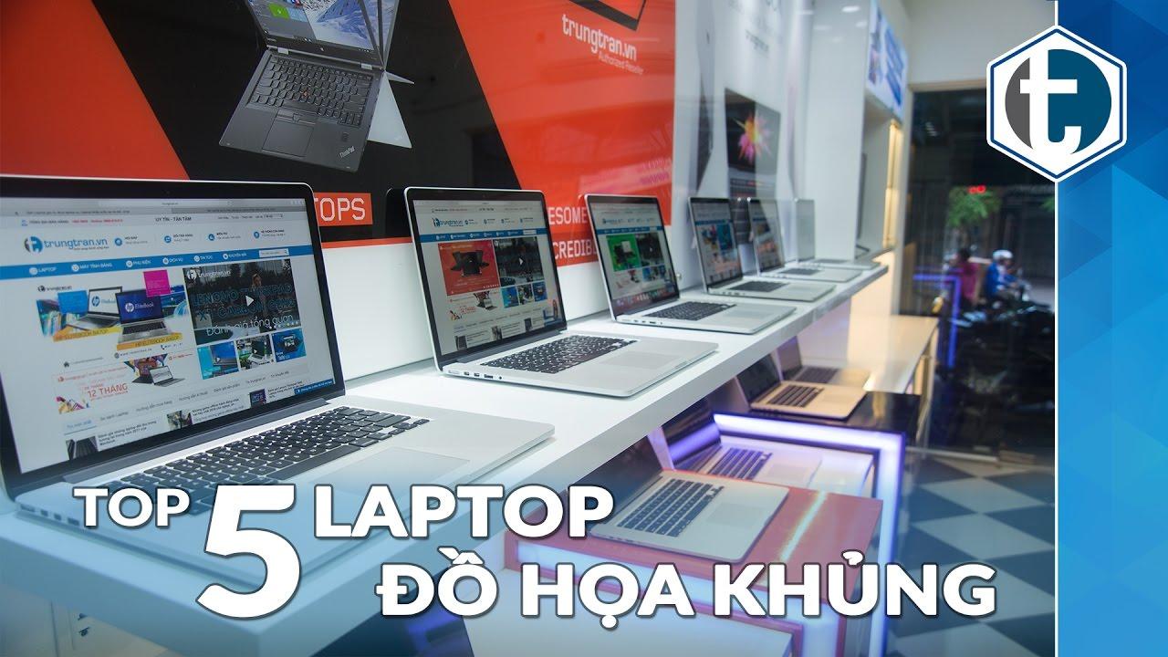 Top những laptop chuyên Thiết kế Đồ hoạ tại trungtran.vn 2016, 2017