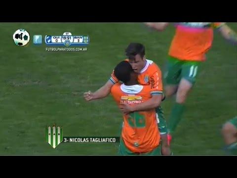 Gol Nicolás Tagliafico - Quilmes 0 Vs Banfield 3 - Copa Argentina 2013/14