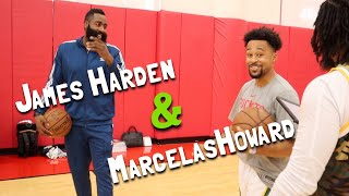 "Teaching James Harden The ""TAP-TAP"" Layup!!"