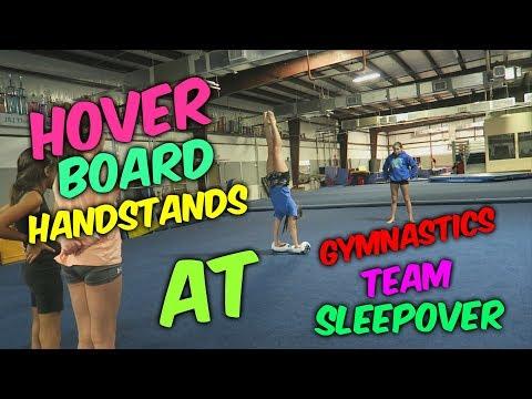 Ultimate Gymnastics Team Sleepover| Rachel Marie