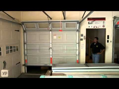 Houston Garage Door Crown Door Service Youtube