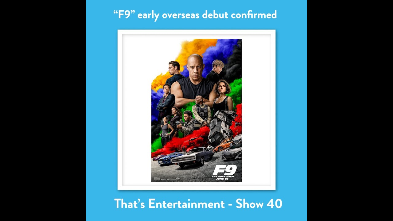 """F9"" TO DEBUT OVERSEAS AS TWO U.S. CINEMA CHAINS CLOSE DOWN"