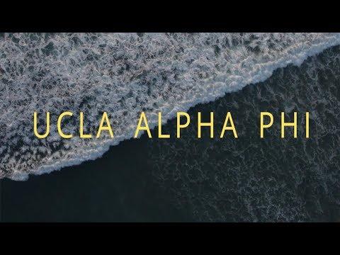 UCLA Alpha Phi Recruitment Video 2017