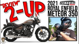 """""""REVIEW"""" First 2-Up Ride On The 2021 Royal Enfield Meteor 350 