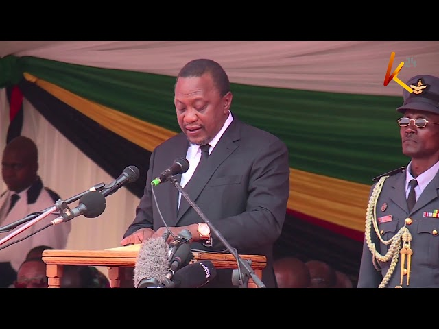 Remembering Mugabe : African leaders eulogize Mugabe