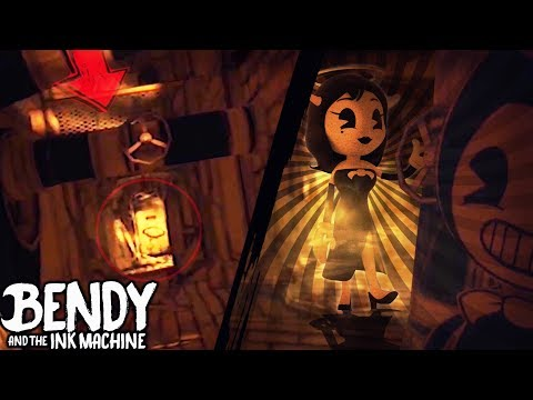 NEW CHAPTER 3 TRAILER & REVERSED MAP! | Bendy and the Ink Machine [Chapter 2 Flipped] +Animation
