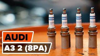 Kā mainīt Aizdedzes svece AUDI A3 Sportback (8PA) - rokasgrāmata