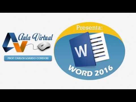Atajos de Teclado y Partes de Word 2016