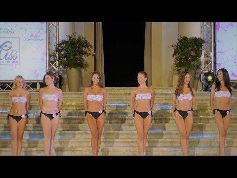 Miss Provincia di Vicenza Finale Sfilata in Bikini 1^ Parte