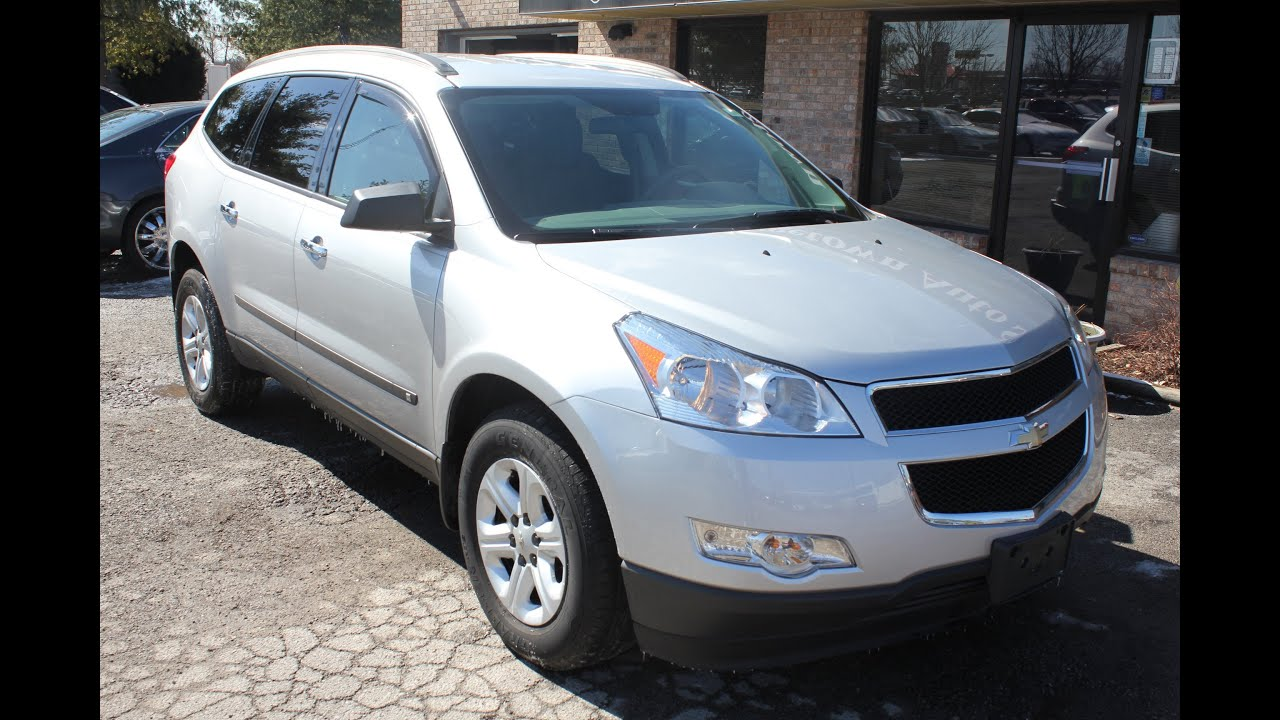 sold used 2010 chevrolet traverse ls awd for sale georgetown auto sales ky kentucky youtube. Black Bedroom Furniture Sets. Home Design Ideas