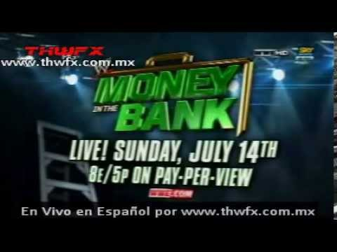 Ver WWE Money in The bank 2013 en vivo Videos De Viajes