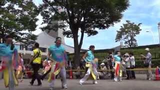 20130824 明治神宮奉納 原宿表参道元氣祭 スーパーよさこい2013(初日)...