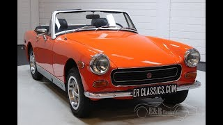 MG Midget MKIII Cabriolet 1974 Very good condition -VIDEO- www.ERclassics.com