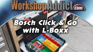 Bosch L-boxx Click & Go Organization Solutions