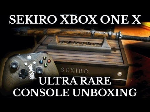 xbox one x limited edition sekiro