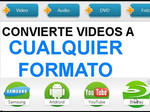 Como convertir vídeos en formato mp4 mpg avi otros para iphone ipad android samsung iphone 5