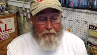 Capt. Dave Stewart - popper rig for old red drum
