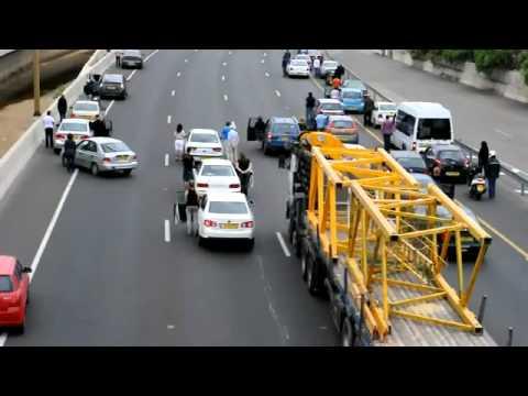 Traffic Flash Mob USAФлешмоб автоStrangeworlds.at.ua