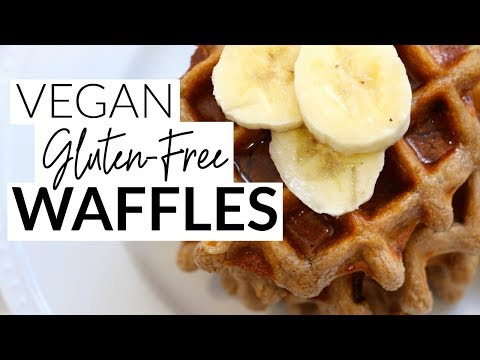 Vegan Gluten-Free Waffles Recipe