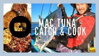 Mac Tuna Catch & Cook  / Sashimi and Crumbed