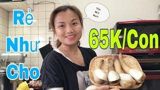 🇯🇵Chế biến & Ăn Ốc Vòi Voi Hấp Xả  65K/con Giá Rẻ Như Cho  #147