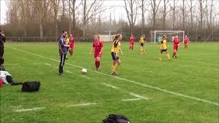 U18DM: BSF-Vilbjerg 14-04-18 Resultat: 2-5 - 1. Halvleg