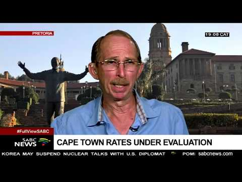 City of Cape Town housing rates and taxes: Ben Espach
