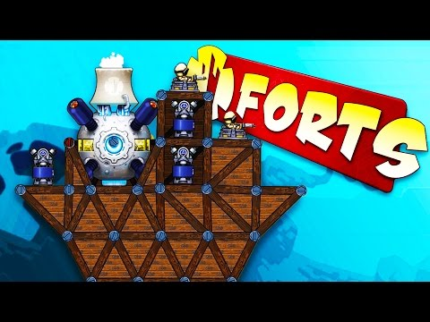INTENSE FORT BATTLES! - Forts Gameplay - Forts Campaign