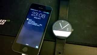 iOS and Android Wear (Moto 360)