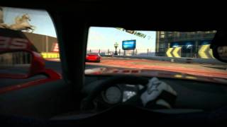 Need for Speed Shift 2 - PC - Gameplay - Mercedes-Benz SLS AMG - London Raceway