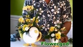 Jim Daniel do TheFlowergod Arranjo de Flores para o Dia da Vovó