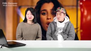 [ENG SUB]Koreans React to Fifth Harmony song- worth it, work from home