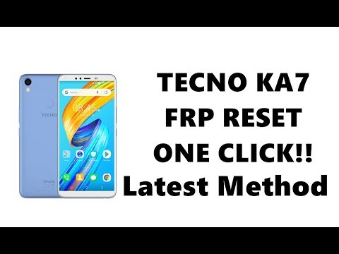 Tecno KA7 FRP Reset just one click with EFT Dongle Crack