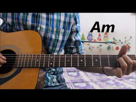 Ban Ja Tu Meri Rani - Guru Randhawa - Tumhari sullu - Guitar cover lesson chords