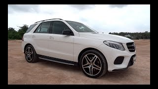 2016 Mercedes-Benz GLE 400 4MATIC AMG Line Start-Up and Full Vehicle Tour