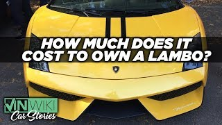 How much does it actually cost to own an exotic car?