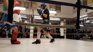 Ravan Jafarli's first kickboxing match (round 1)