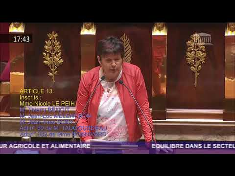 Intervention hémicycle Egalim