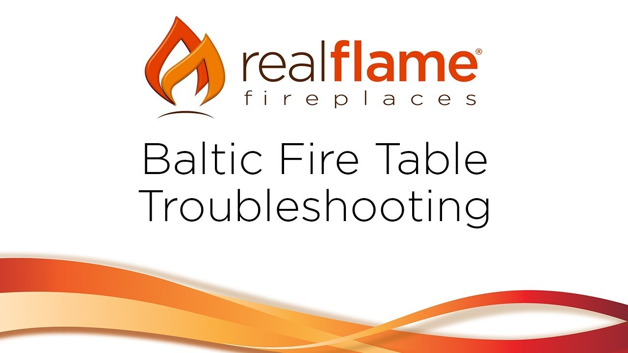 Real Flame - Baltic Troubleshooting Video - YouTube